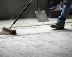 Worker Sweeping
