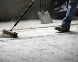 Worker Sweeping