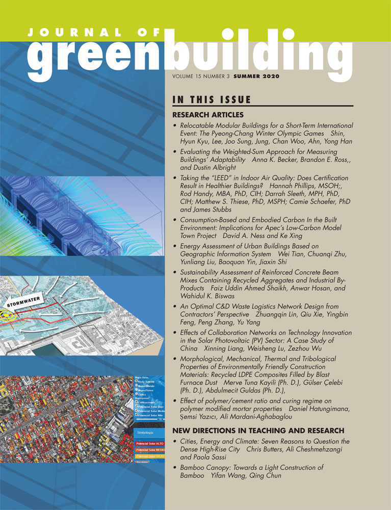 Journal of Green Building