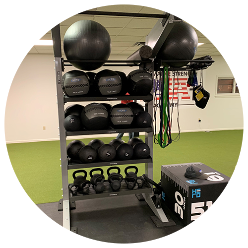 Kettlebells and Stability Balls