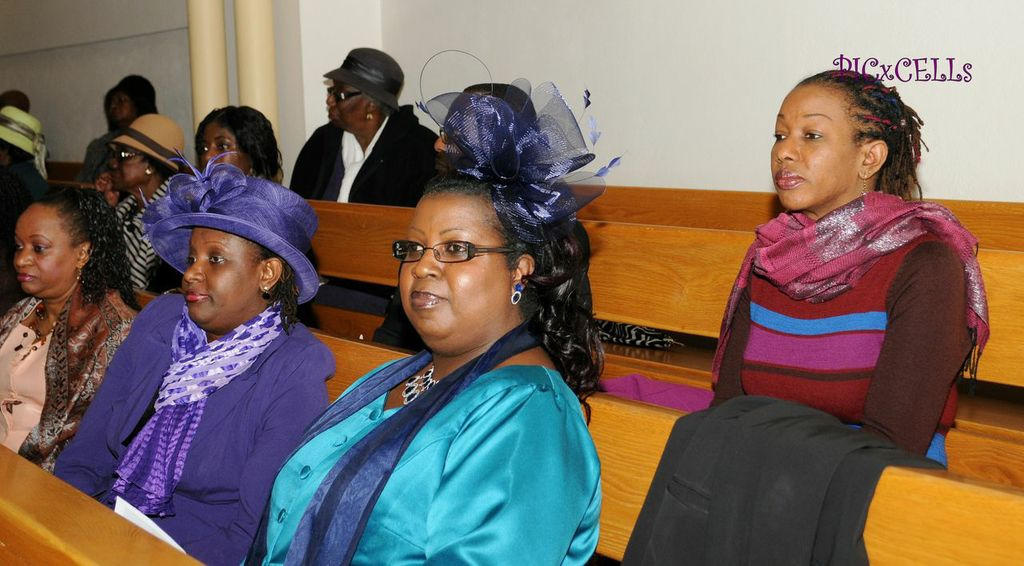 Guests at the Thanksgiving Service