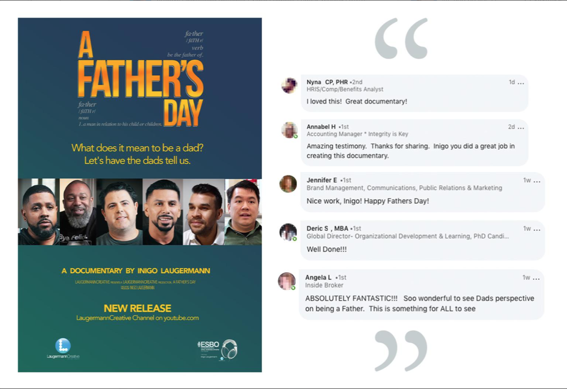 """A Father's Day"" documentary reviews"