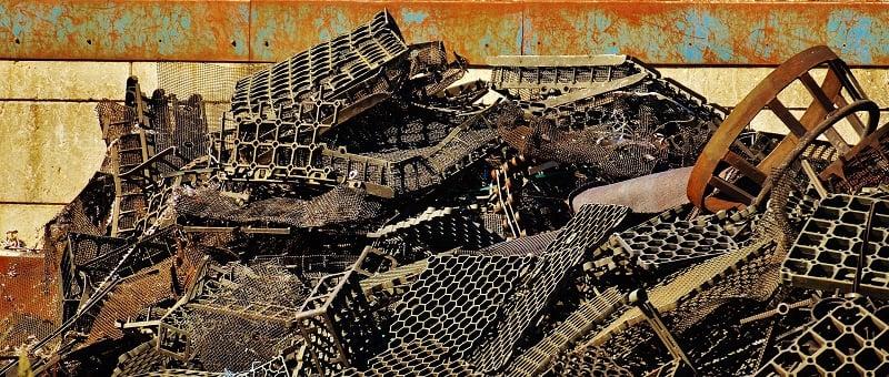 Scrap Metal Salvage Yard