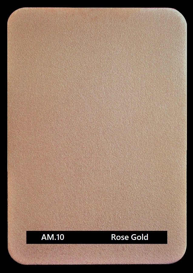 Metal finishes | metal coating AM.10 Rose Gold from Artistic Metals
