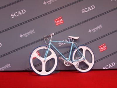 Blue-Colored Bike