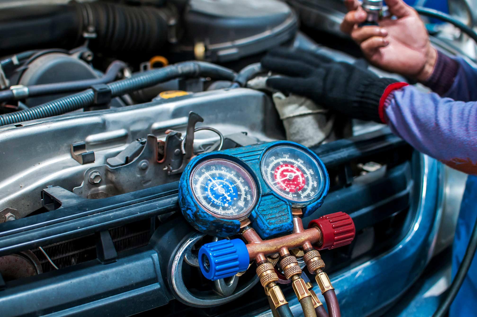 Taller aire acondicionado automotor