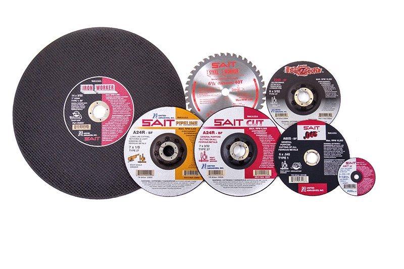 Abrasive Supplies from United Abrasives/SAIT