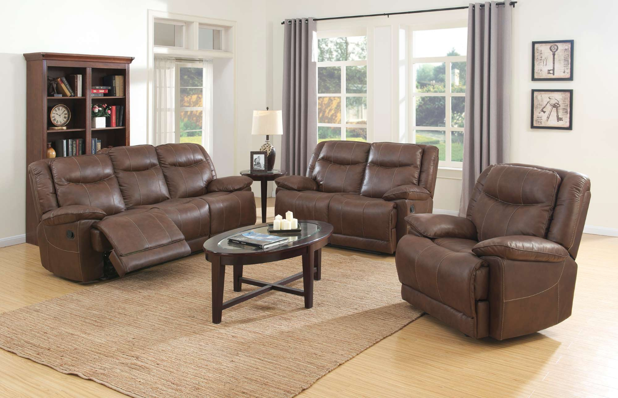 Reclining Sofa and Loveseat set LR3280