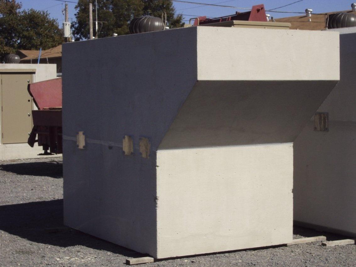 Precast Concrete In-Ground Shelter