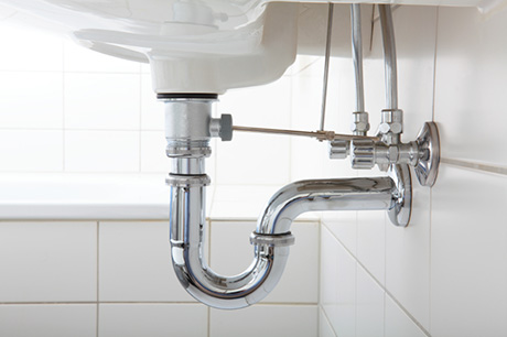 Wash basin and sink pipe