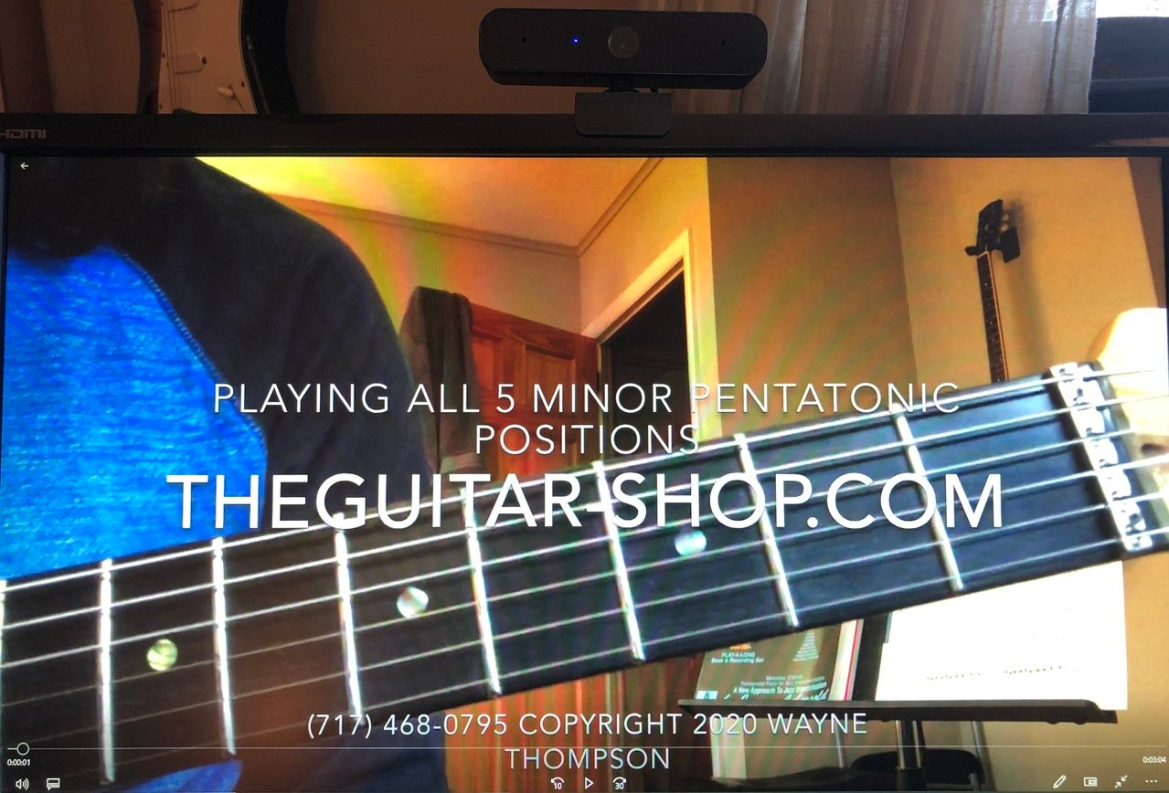 The Guitar Shop youtube Channel Guitar Lessons in Lancaster Pa