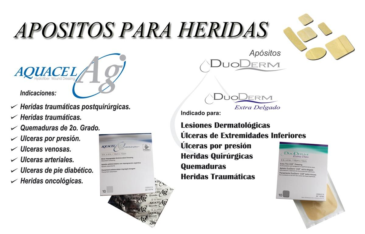 PRODUCTOS PARA HERIDAS