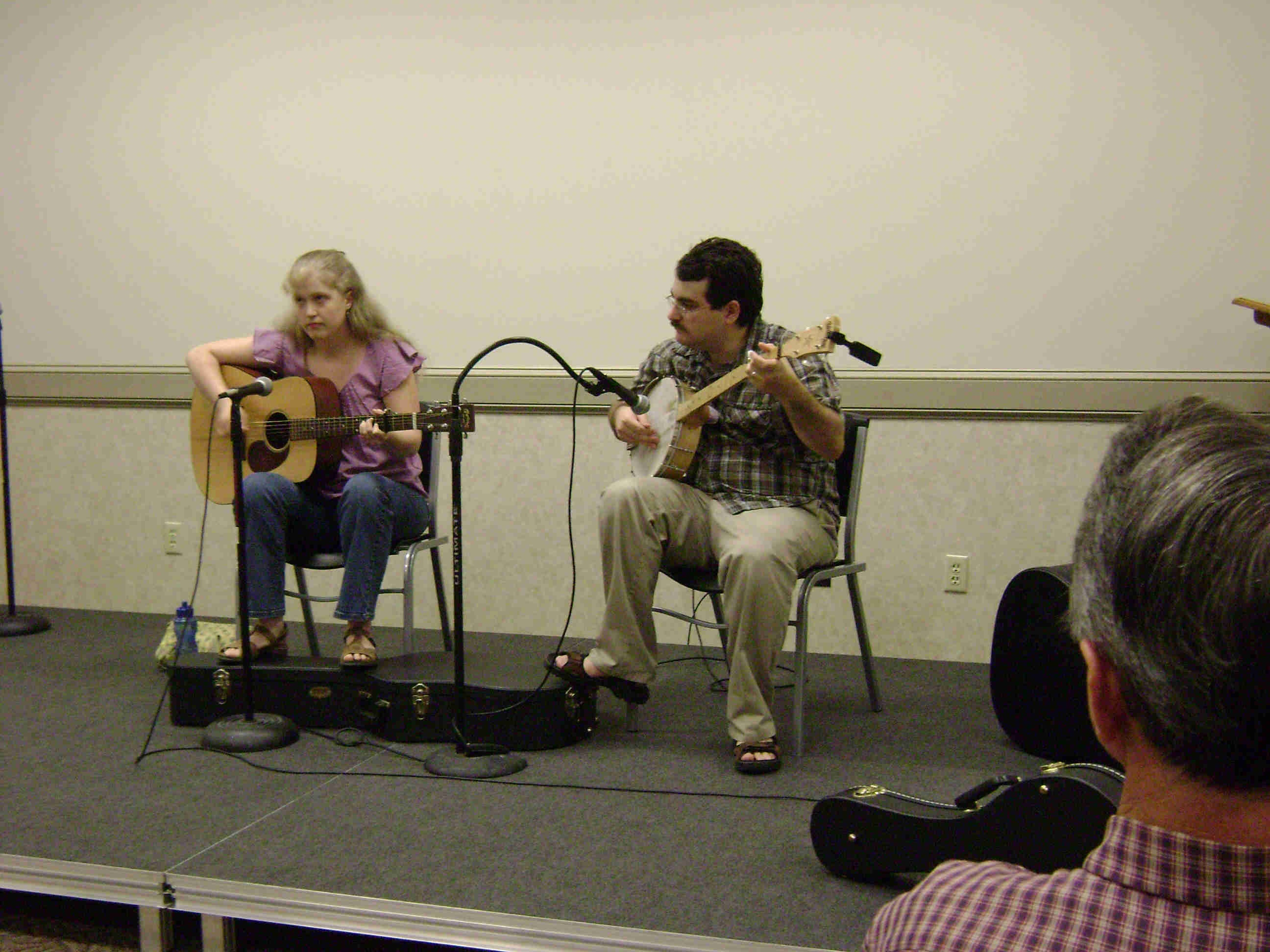 Hilary Scheel and Daniel Fleck 2009