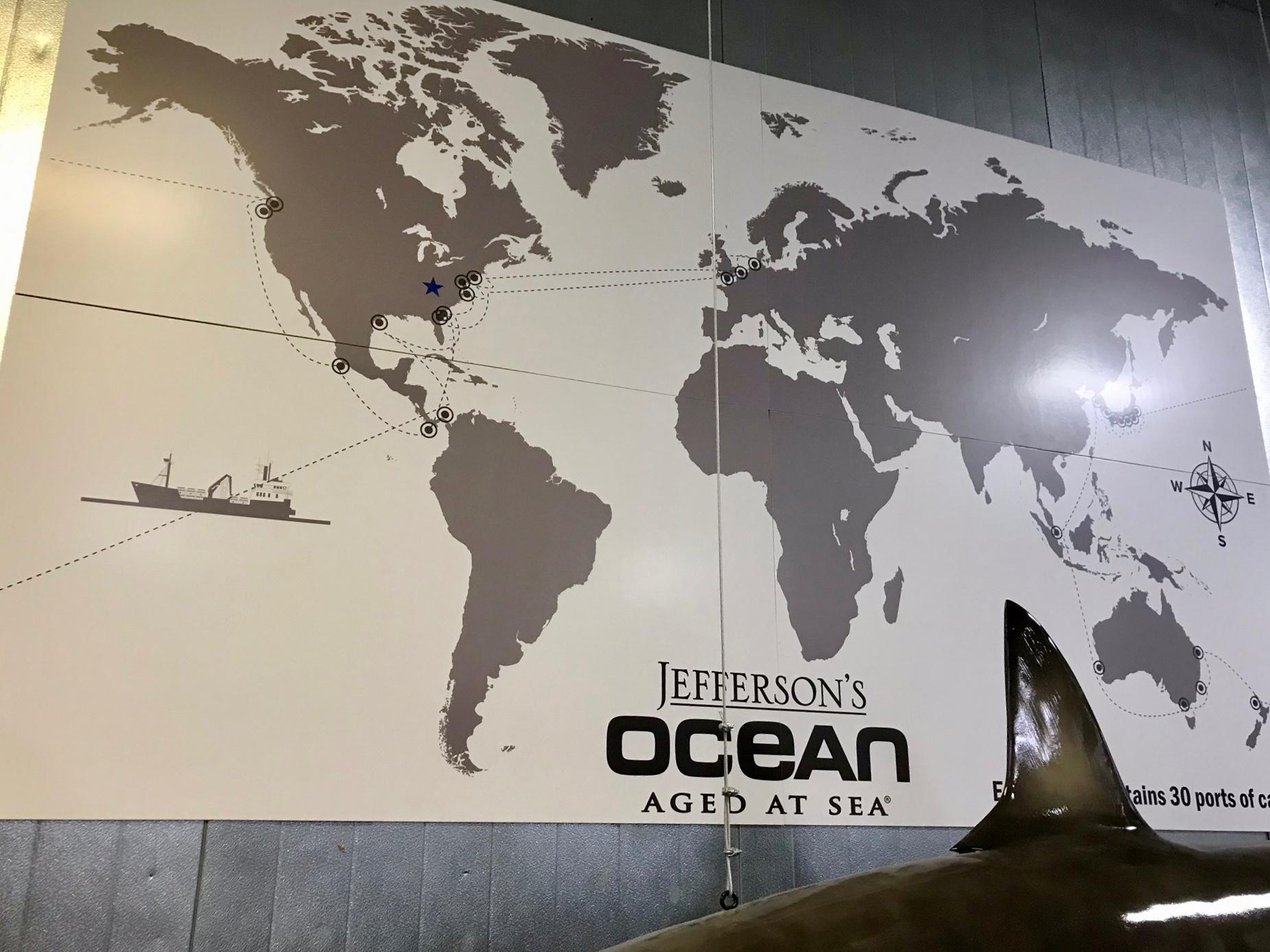 Ports of Call for Jefferson's Ocean - Kentucky Artisan Distillery
