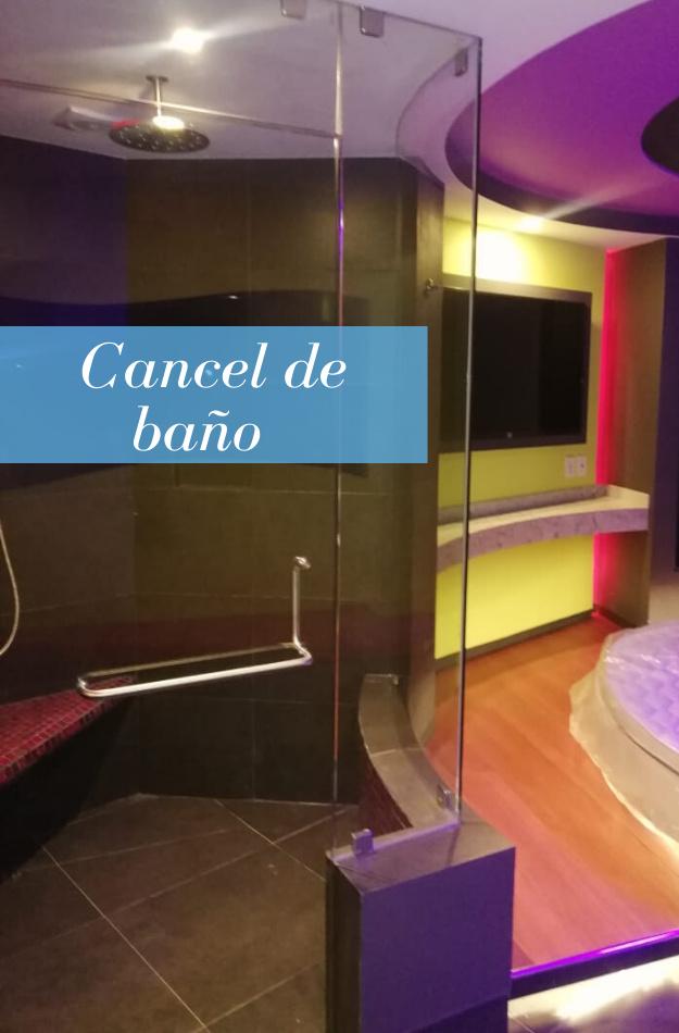 Cancel de baño hotel