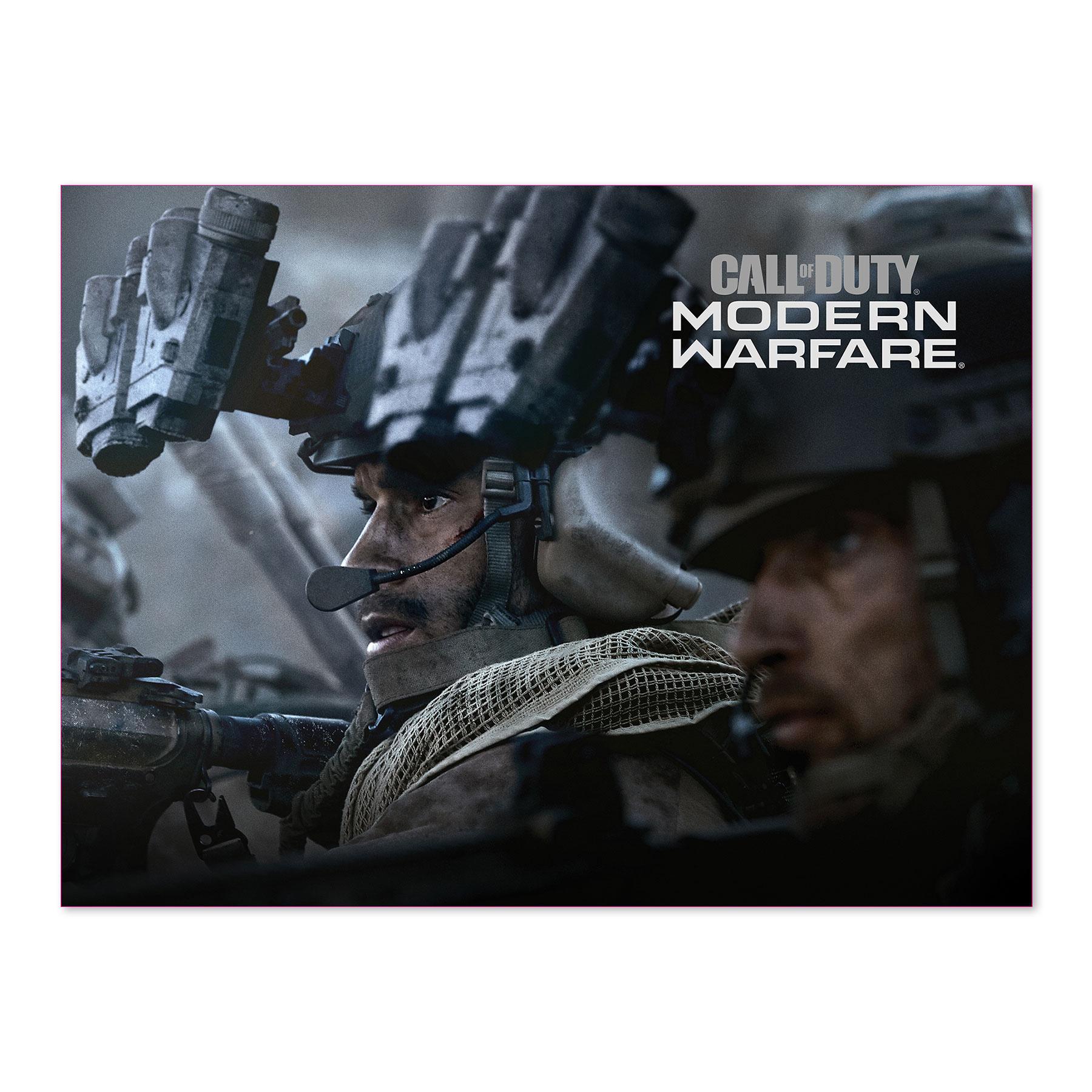 Call Of Duty Modern Warfare Launch Wall Poster