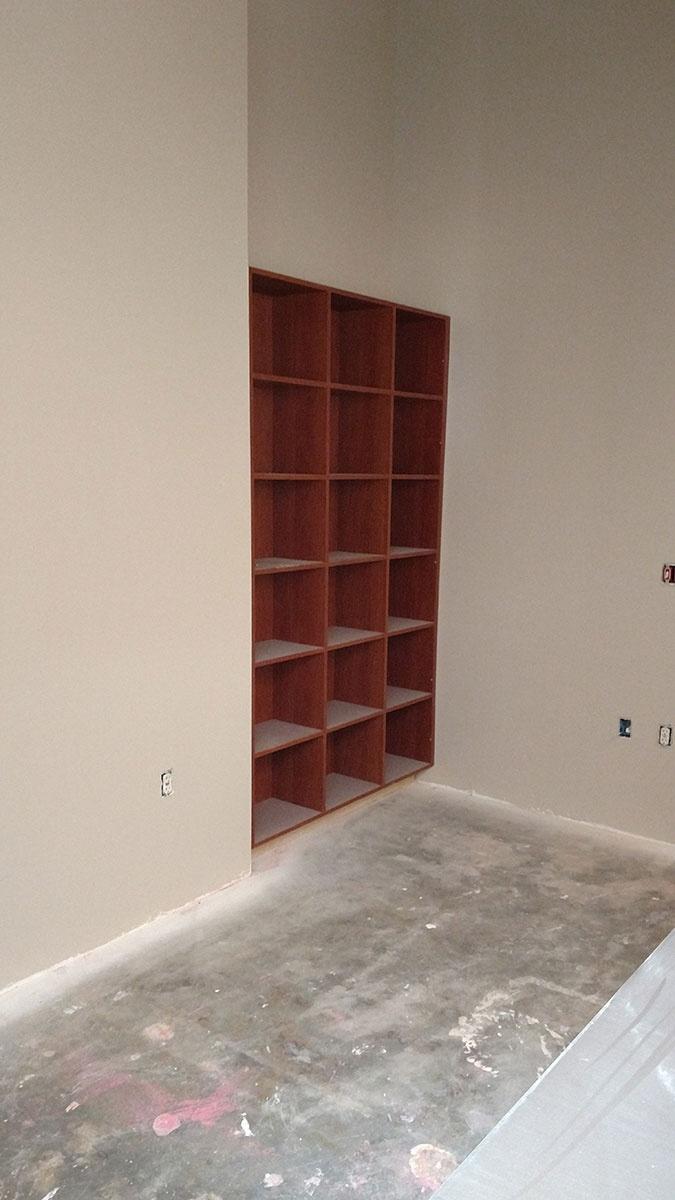 Commercial Built-in Casework
