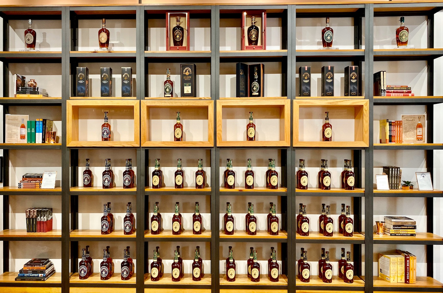 Bottles - Some for sale, some not - Michter's Distillery