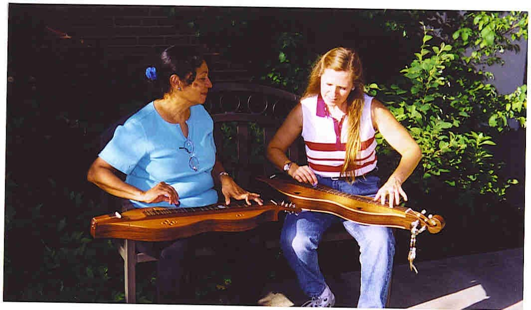 Maag Mitton and Lee Cagle, Cullowhee, NC 2006