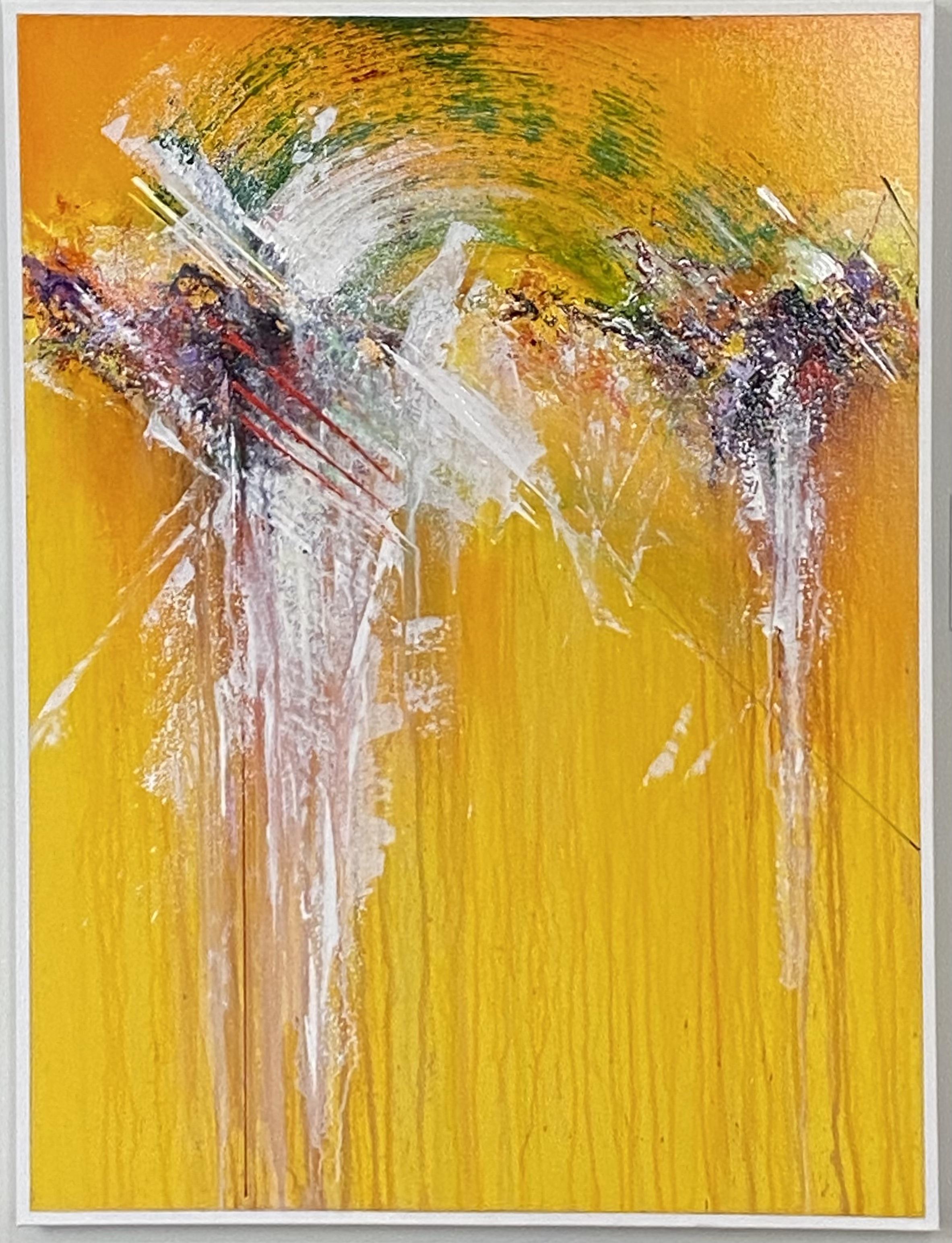 "Abstract Acrylic 30"" X 40"" $495."