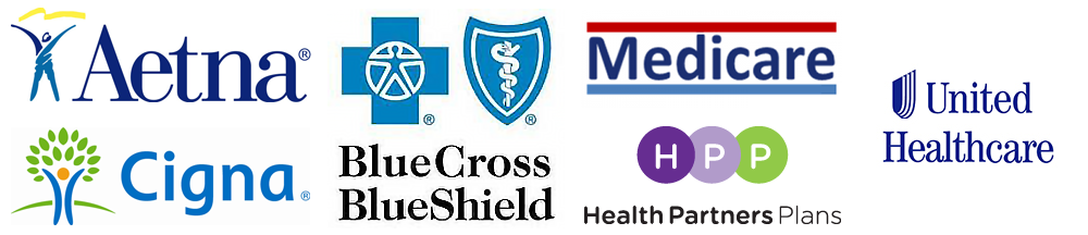 We accept most major medical health insurance. Please call 215-248-6090 to verify we accept your plan.