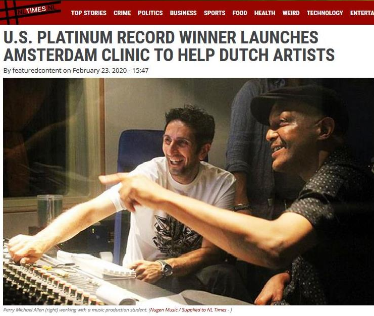 Click on picture to read article online @ NLTIMES.nl