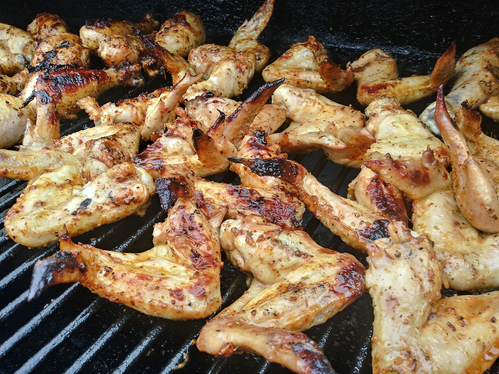 Grilled Wings 2