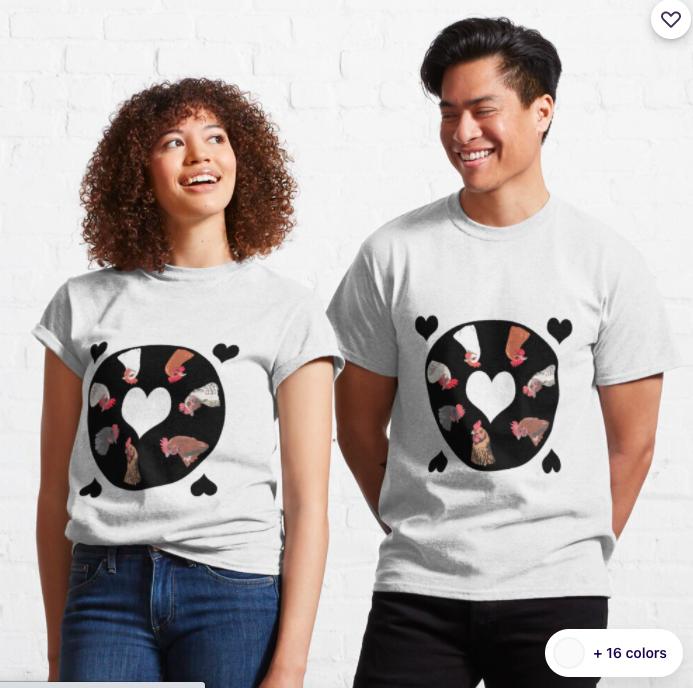 Chicken Love T-shirt
