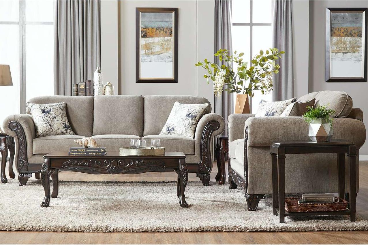 2300 Parker Sage Sofa & Loveseat