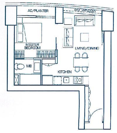 1 Bedroom Suite A