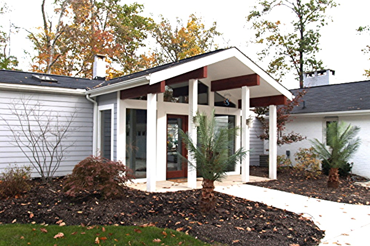 FRONT ENTRY REDESIGNED