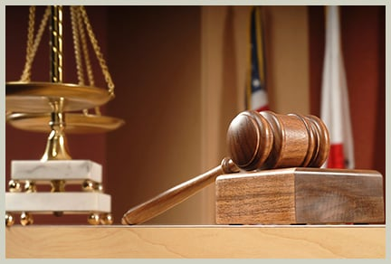 Gavel and justice scale    