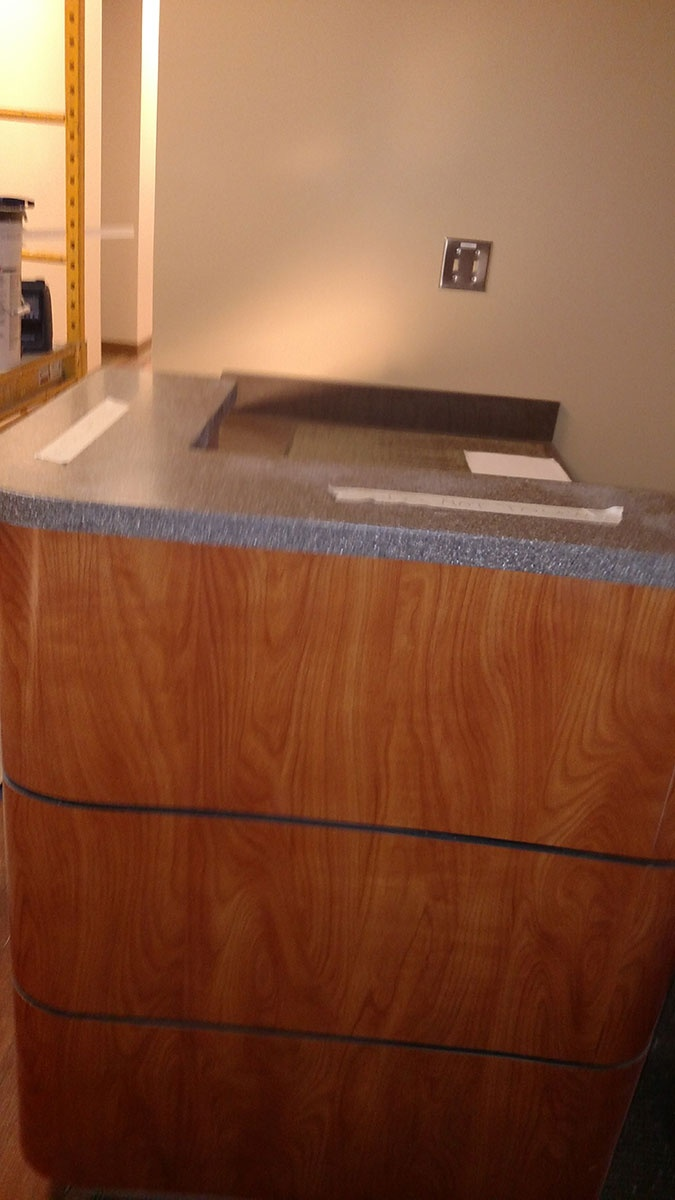 Laminate Commercial Countertop