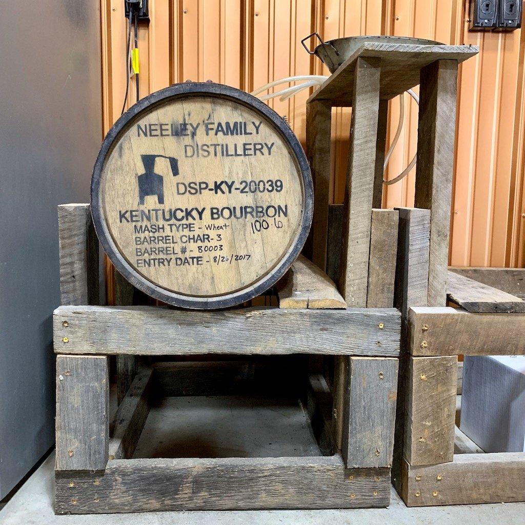 Barrel - Neeley Family Distillery