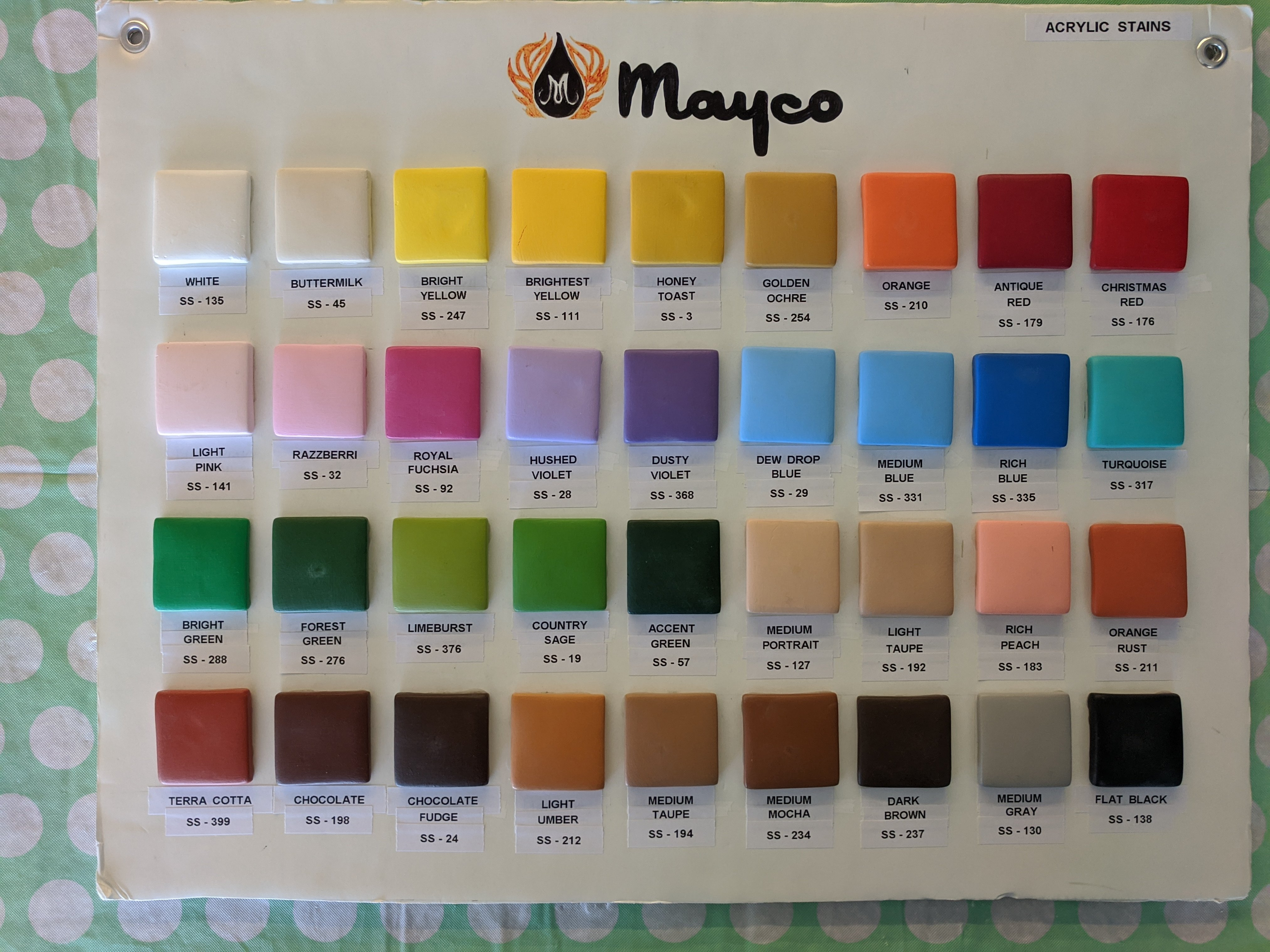 Mayco Acrylic Stains