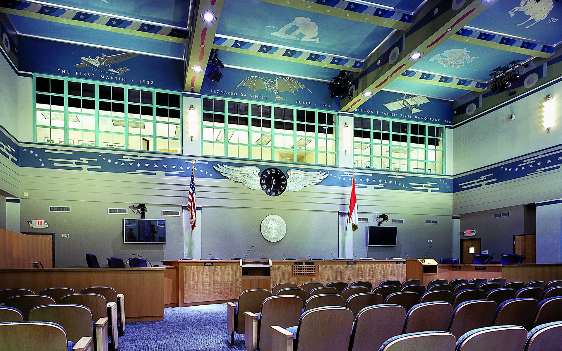 City of Miami Florida Commissioners Chambers