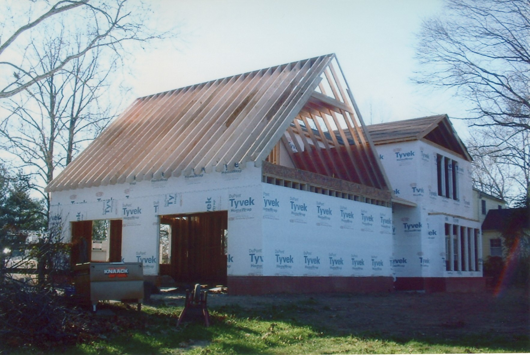 addition, remodel, and renovation during B