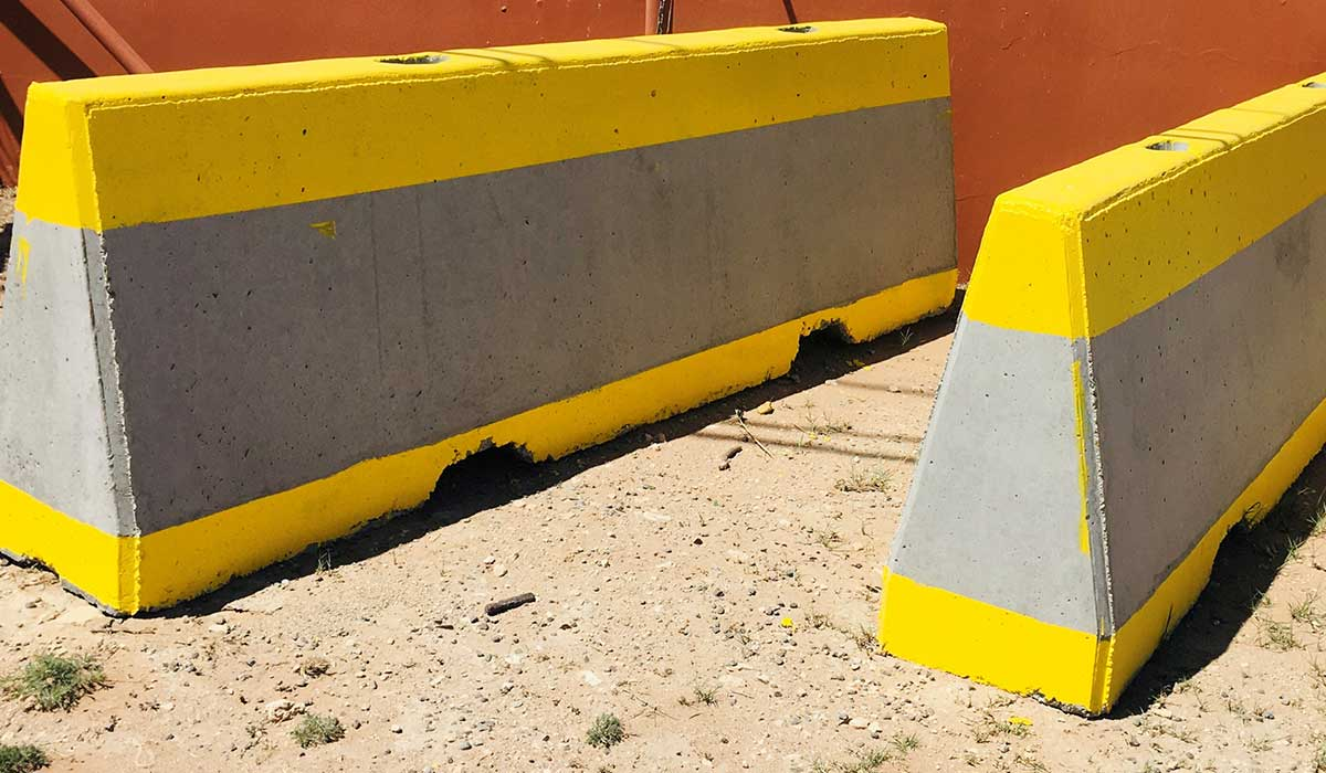 10' Safety Barriers