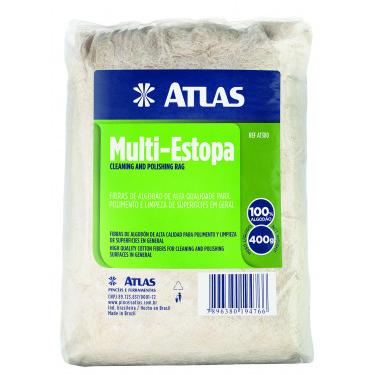 ESTOPA MULTIUSO 400 GRAMAS ATLAS