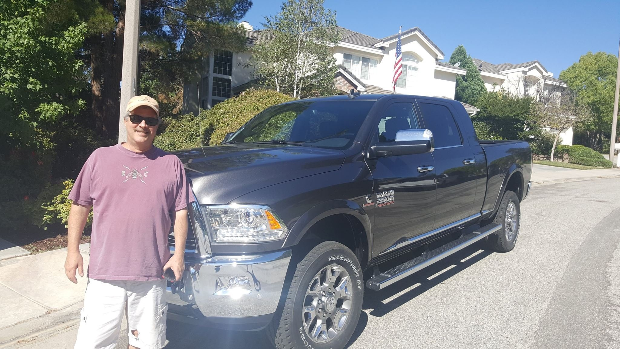 Dodge Truck Purchase - Thanks Kevin!  Enjoy it in Colorado!
