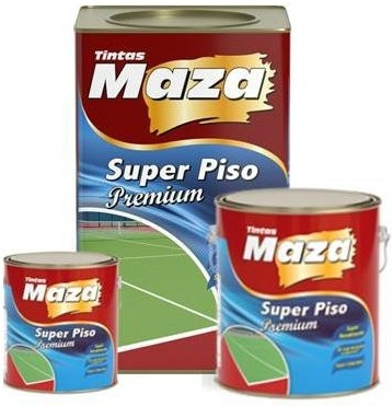 TINTA DE PISO SUPER PREMIUM BASE AGUA MAZA