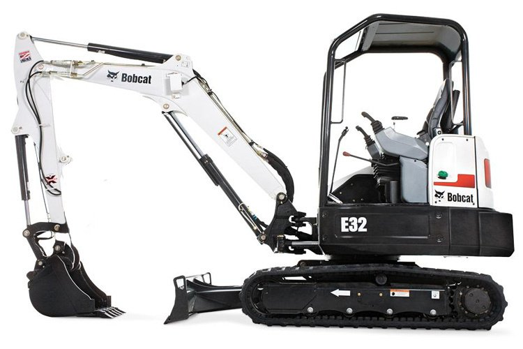 Bobcat E32  $225/day $675/week $2025/month