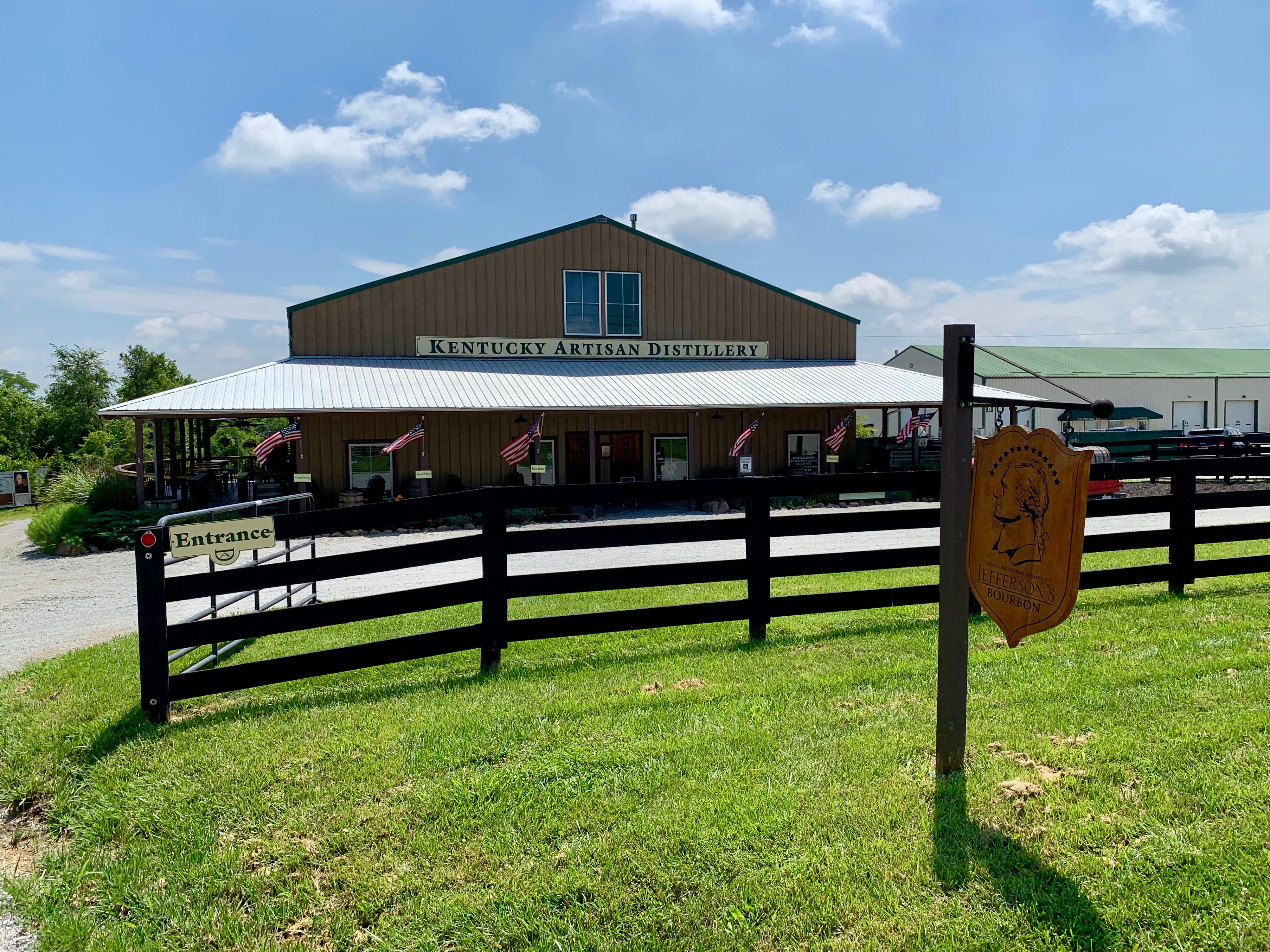 Kentucky Artisan Distillery - Front