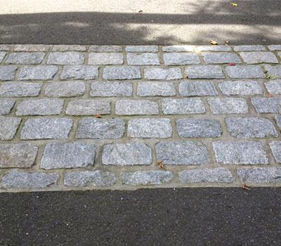 Belgian Block Driveway