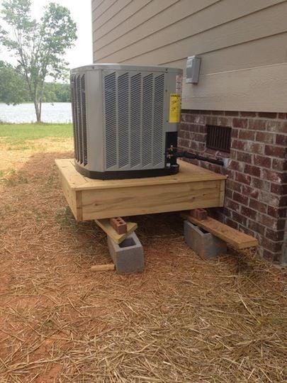 Failed HVAC