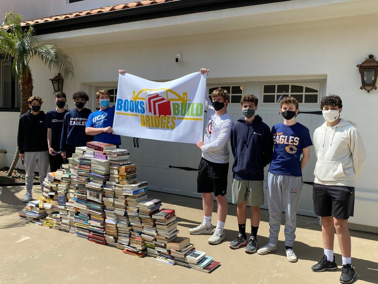 Books Build Bridges Banner