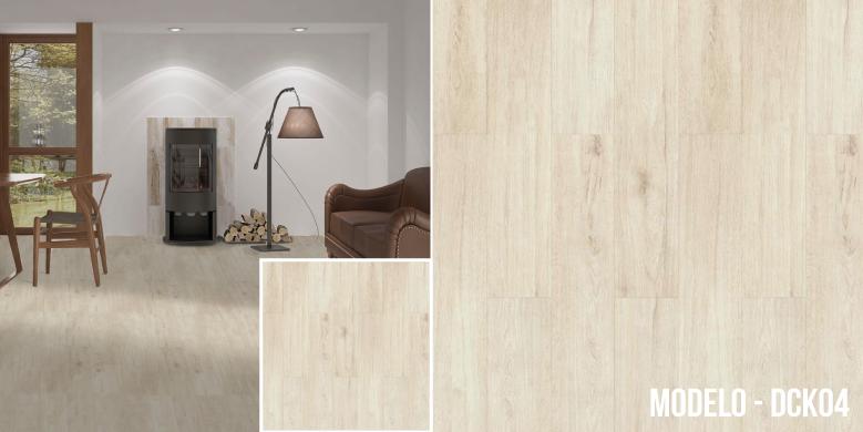 Decoclick Vinil estilo madera
