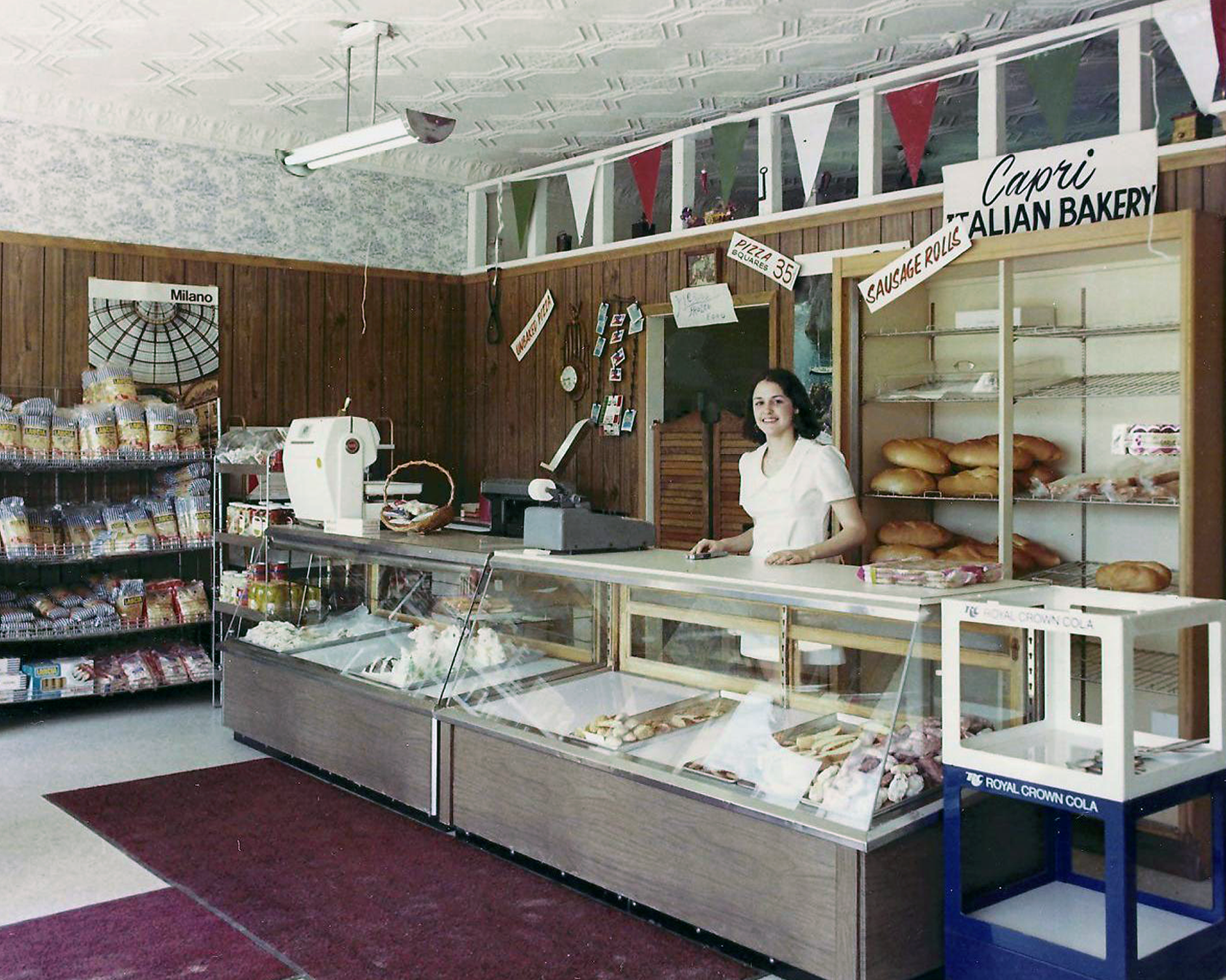 dearborn office display case. virginia added pizza and the now famous pepperoni rolls to her product line one of john virginiau0027s four children jr worked part time help dearborn office display case