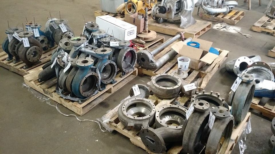 Used Industrial Machine Parts