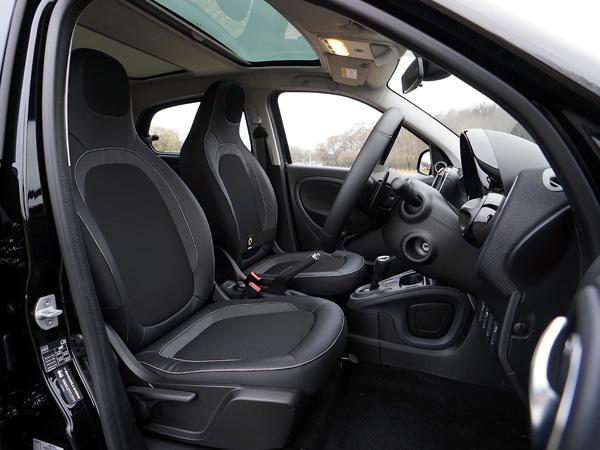 Inside View Of Luxury Car